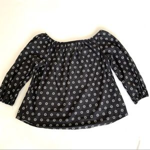 Maeve Top Anthropologie Size Large